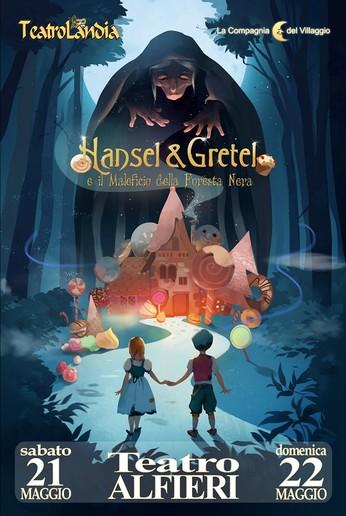Locandina-musical-Hansel&Gretel-torino-La-Compagnia-del-Villaggio