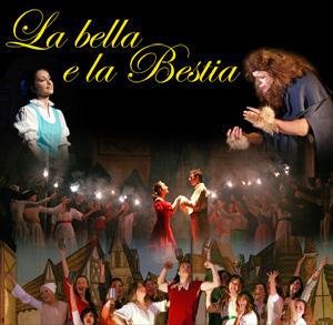 Locandina La Bella e la Bestia - La Compagnia del Villaggio